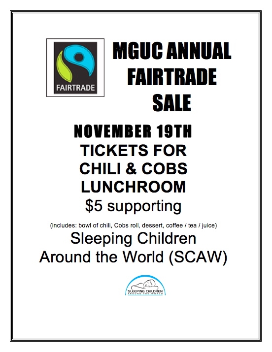 Image - MGUC Annual Fair Trade Sale