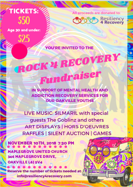 Rock & Recovery Fundraiser