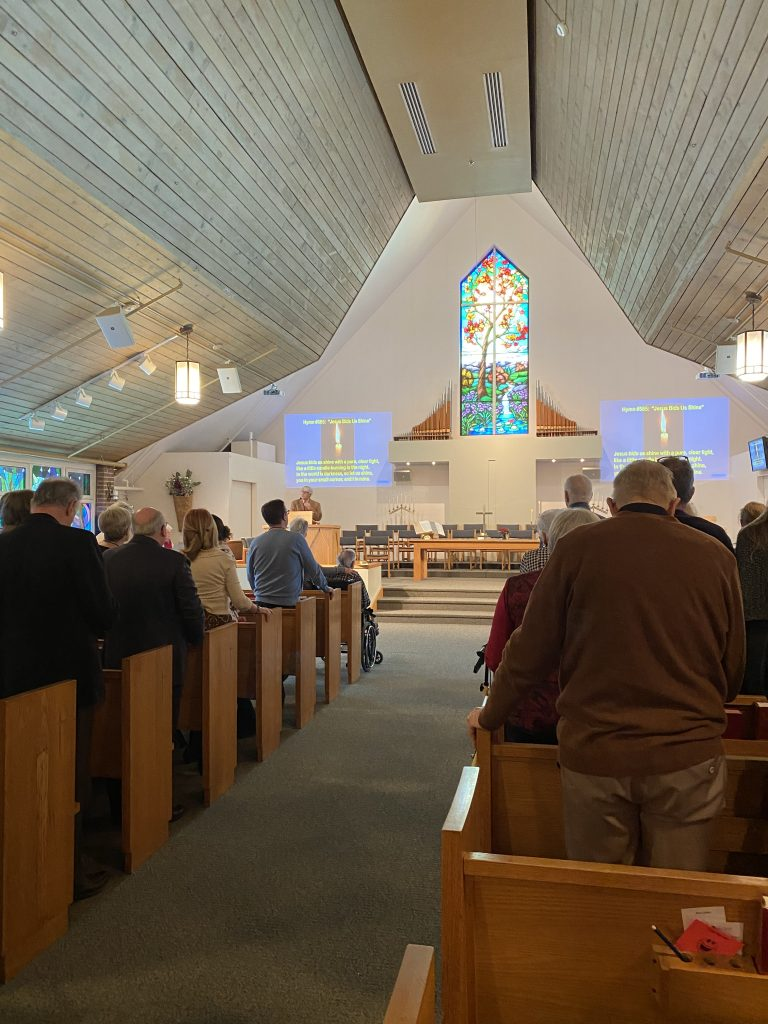 MGUC congregation for the Hymn-Sing