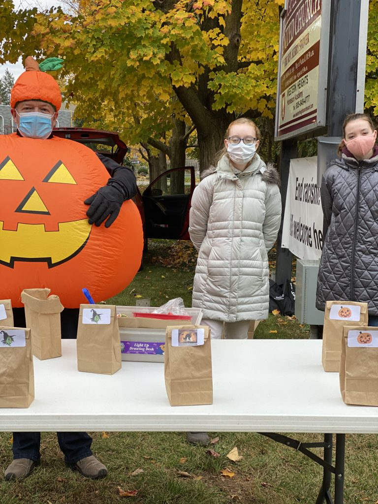 Hallowe'en in safety at Maple Grove United Church, in Oakville