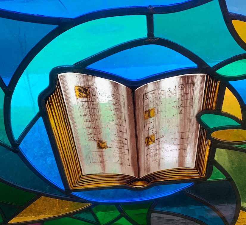 The Bible on Stained Glass